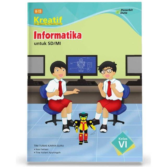 buku kreatif informatika sd